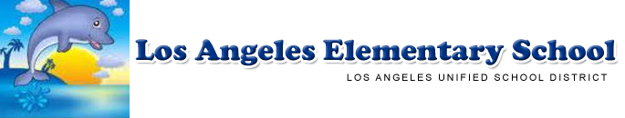 Los Angeles Elementary School   Logo